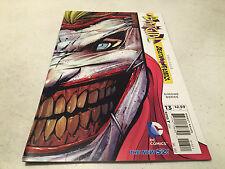 BATGIRL #13 1ST PRINT W/DIE CUT JOKER FACE BATMAN DEATH OF THE FAMILY DC NEW 52