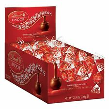 Lindt LINDOR Milk Chocolate Truffles 60 Count Box