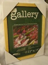 """New Deluxe Art/Picture Gallery Wood 1-1/2"""" Deep Frame - Natural 11"""" x 14""""."""