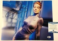 JERI RYAN Signed 11x14 Photo Star Trek Voyager Auto Image #1 ~ Beckett BAS COA