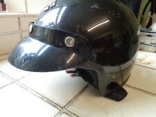 HARLEY DAVIDSON BLACK OPEN FACED HELMET, M