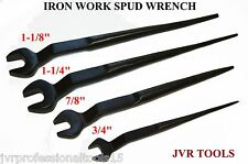 """4PC IRON WORK SPUD WRENCH (COMBO) 1-1/4"""", 1-1/8"""", 7/8"""", AND 3/4"""""""