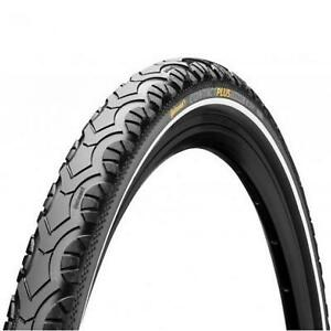 Continental Contact Plus Travel Wired Reflex Tyre Black 26 x 1.75