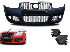 PARECHOC PARE CHOC VW GOLF 5 TYPE GTI EN ABS + 2 ANTIBROUILLARD NOIR