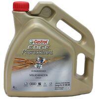 Castrol Edge Professional 5W30 5W-30 Motoröl Öl Titanium FST VW LongLife III 4 L