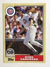 2017 Topps RYNE SANDBERG New Era '87 Promo SP Variant Card. Chicago Cubs