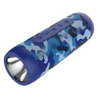 ZEALOT Wireless Bluetooth Speaker Portable Boombox with Flashlight & Power Bank