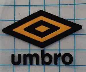 Black Yellow Sheffield Wednesday Retro Umbro logo Heat Press on football 1990/91