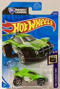 "Hot Wheels 13/250 Rocket League ""OCTANE"" Green Die-Cast Car (SCREEN TIME 8/10)"