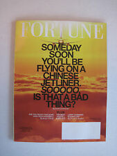 Fortune V168N8 - Flying on a Chinese Jetliner Is That a Bad Thing  - 18-Nov-2013