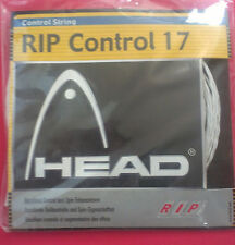 Head - Rip Control 17 - White - Synthetic Gut  Tennis String - Fast Shipping