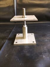 Adjustable Height Timber Fence Post Support shoe for 150 & 200mm post in S/Steel