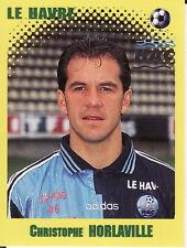 N°127 HORLAVILLE LE HAVRE HAC VIGNETTE PANINI FOOTBALL 98 STICKER 1998