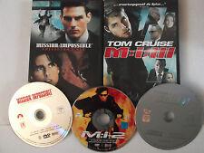 Mission Impossible Triology - 1,2,3 (1-3) - Tom Cruise, Brian de Palma, John Woo