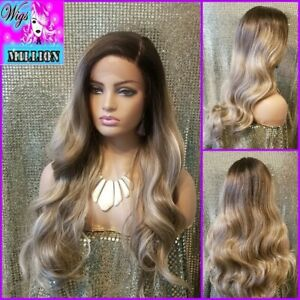 Mary'' Heat Resistant  Lace Front Wig