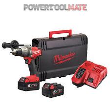 Milwaukee M18FPD-502X 18v Li-Ion M18 Fuel Percussion Drill - 2x 5.0Ah Batteries