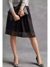 Bnwt🌺 NEXT 🌺 Size 8 Black Lace Ladies Skirt Work Office Party Evening New £40