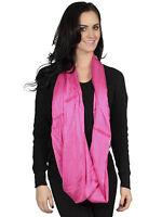 Soft Women's Infinity Scarf Ladies Circle Loop Cowl Scarves Wrap Shawl