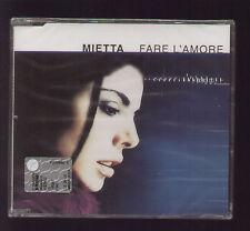 CD SINGOLO MIETTA FARE L'AMORE (4 VERSIONI DIVERSE) COPIA SIGILLATA 2000 WEA