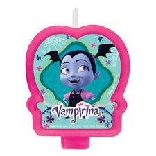 VAMPIRINA CAKE CANDLE ~ Birthday Party Supplies Decoration Disney Pink Girl