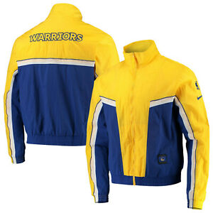 NIKE GOLDEN STATE WARRIORS COURTSIDE TRACKSUIT FULL-ZIP JACKET MEN'S SIZE 2XL