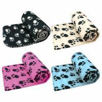 LARGE PET BLANKET FOR DOG CAT BED . SOFT FLEECE NEW 120 X 100 CM