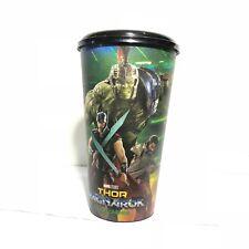Marvel Studios THOR Ragnarok Movie Plastic Cup In Cinemas Theatres