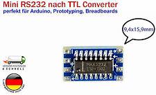 Mini RS232 según TTL Convertidor Con MAX3232 Chip para Arduino Raspberry Pi diy