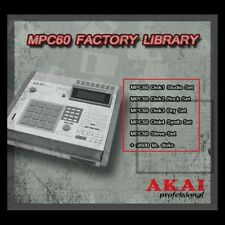 Akai MPC 60 Factory Sound Library for HXC floppy emulator