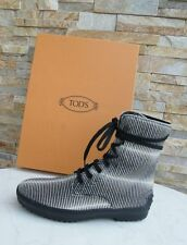 Tods Tod´s bottines 37 BOTTINES CHAUSSURES VEAU Chaussures à lacets NEUF