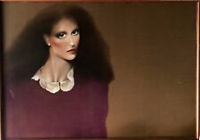 LADY WITH LACE COLLAR BY JOANNA ZJAWINSKA, OIL ON CANVAS WITH FRAME