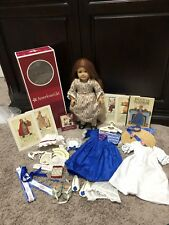 American Girl Historical RETIRED FELICITY HUGE LOT BOOK MEET BOX SHIFT SHOES