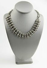 "18"" ESTATE VINTAGE Jewelry INDIA INDIAN RAJ RAJASTHAN SILVER NECKLACE 75.6 gr"
