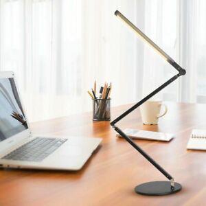 Energy Saving Modern LED Desk Lamp with Clamp Dimmer Swing Long Arm Office Light