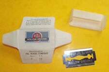ANCIENNE LAME DE RASOIR NEUVE . PAL HOLLOW GROUND PAL BLADE CO. RAZOR BLADE