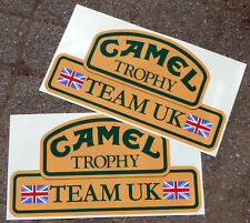 CAMEL TROPHY Team UK 4X4 LARGE STICKERS DECALS Land Rover Defender Discovery