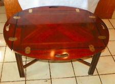 Mahogany Butler Coffee Table by Lane  (CT177)