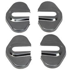 Black Door Lock Protective Cover Trim for Chevrolet Camaro 12-15/Cruze 09-15