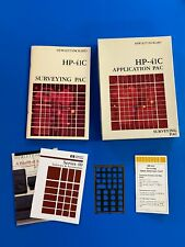 HP- 41C Surveying Pac Owners Manual & Original Box