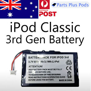 Apple iPod Classic 3rd 4th Generation Gen Battery 850 mAh Replacement