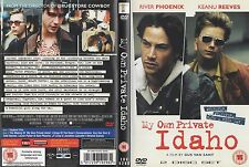 MY OWN PRIVATE IDAHO - RIVER PHOENIX / KEANU REEVES - DOUBLE DVD - GAY INTEREST