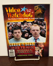 VIDEO WATCHDOG ISSUE #119 SHAUN OF THE DEAD-ROJO SANGRE-JESS FRANCO NM/MINT