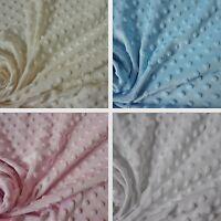 Dimple Fleece Fabric -  4 Colours (Per Metre)