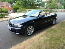 2004 BMW 320 CI SE AUTO AUTOMATIC 2.2 PETROL MANUAL CABRIOLET CONVERTIBLE BLUE