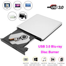 USB 3.0 Blu-Ray Laptop PC External Optical Drive Burner DVD CD Writer Record RH