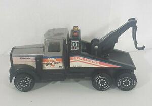 Vintage 1982 Tonka Kenworth Tow Truck Medium Metal & Plastic Toy Vehicle