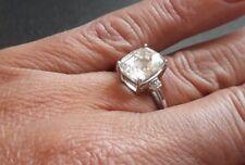 Ring (17) 375er Weißgoldring Goldring mit einem Goshenit ,WIE NEU Juwelo