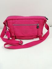 Kipling Seoul Vibrant Pink Crossbody Purse Shoulder Bag