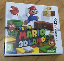 Nintendo 3ds game super Mario 3D land new factory sealed