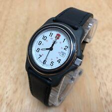 Swiss Army Lady 100m Classic Leather Analog Quartz Watch Hours~Date~New Battery
